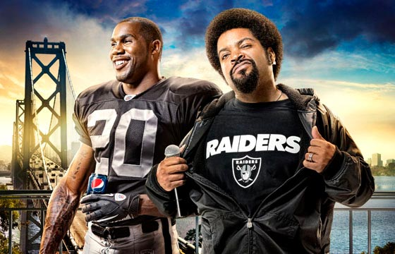 "Listen to Ice Cube's new Raider Anthem ""Come And Get It"""