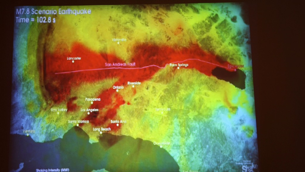 Study: Irrigation Could Stress San Andreas Fault, Increasing