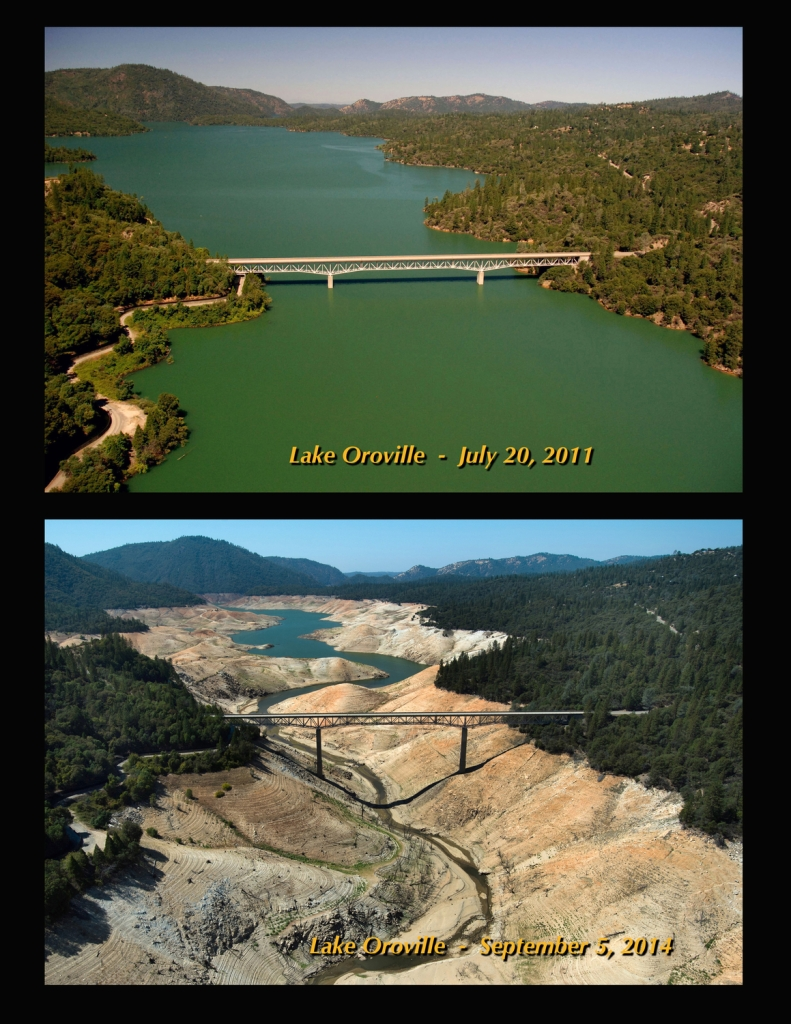 Lake Oroville: Before & During Drought – CBS Sacramento