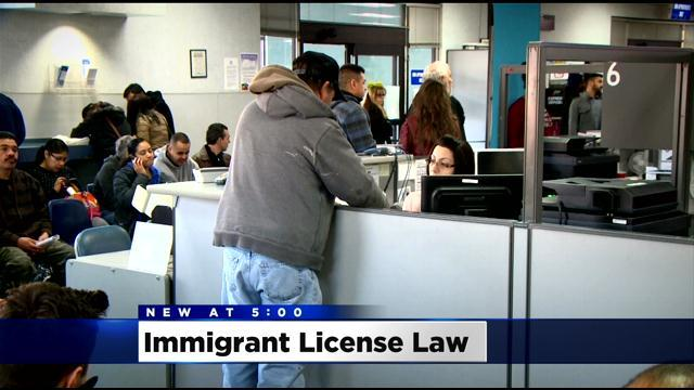 Long Lines, Qualifications Greet Undocumented Immigrants