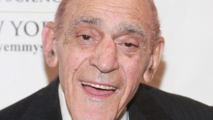 """Actor Abe Vigoda, best known for playing Detective Phil Fish on """"Barney Miller"""" as well as the mob soldier Tessio in """"The Godfather"""", died Jan. 26. He was 94. (Photo by Astrid Stawiarz/Getty Images)"""