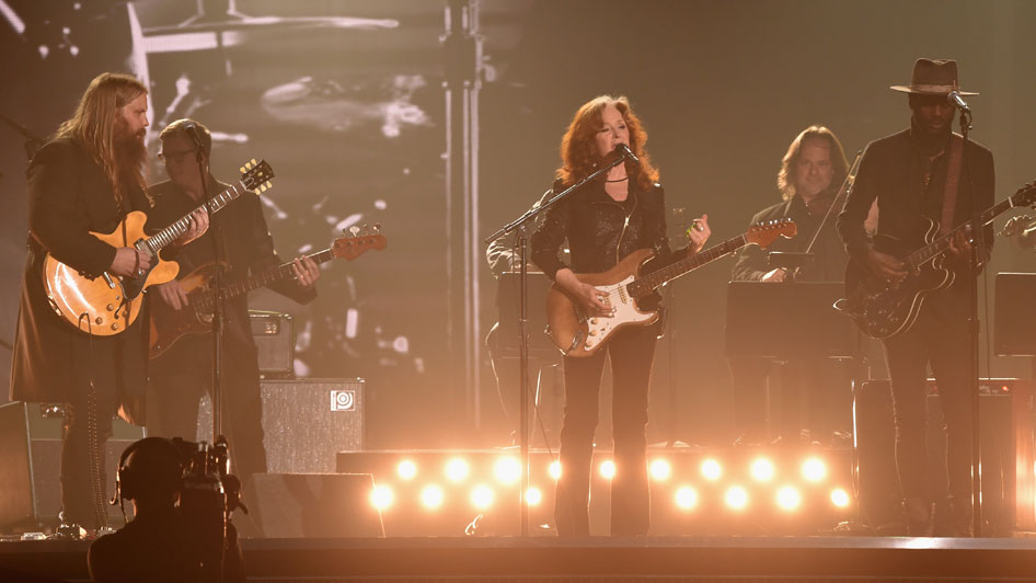 Chris Stapleton, Bonnie Raitt, Gary Clark Jr (Larry Busaca/Getty Images)