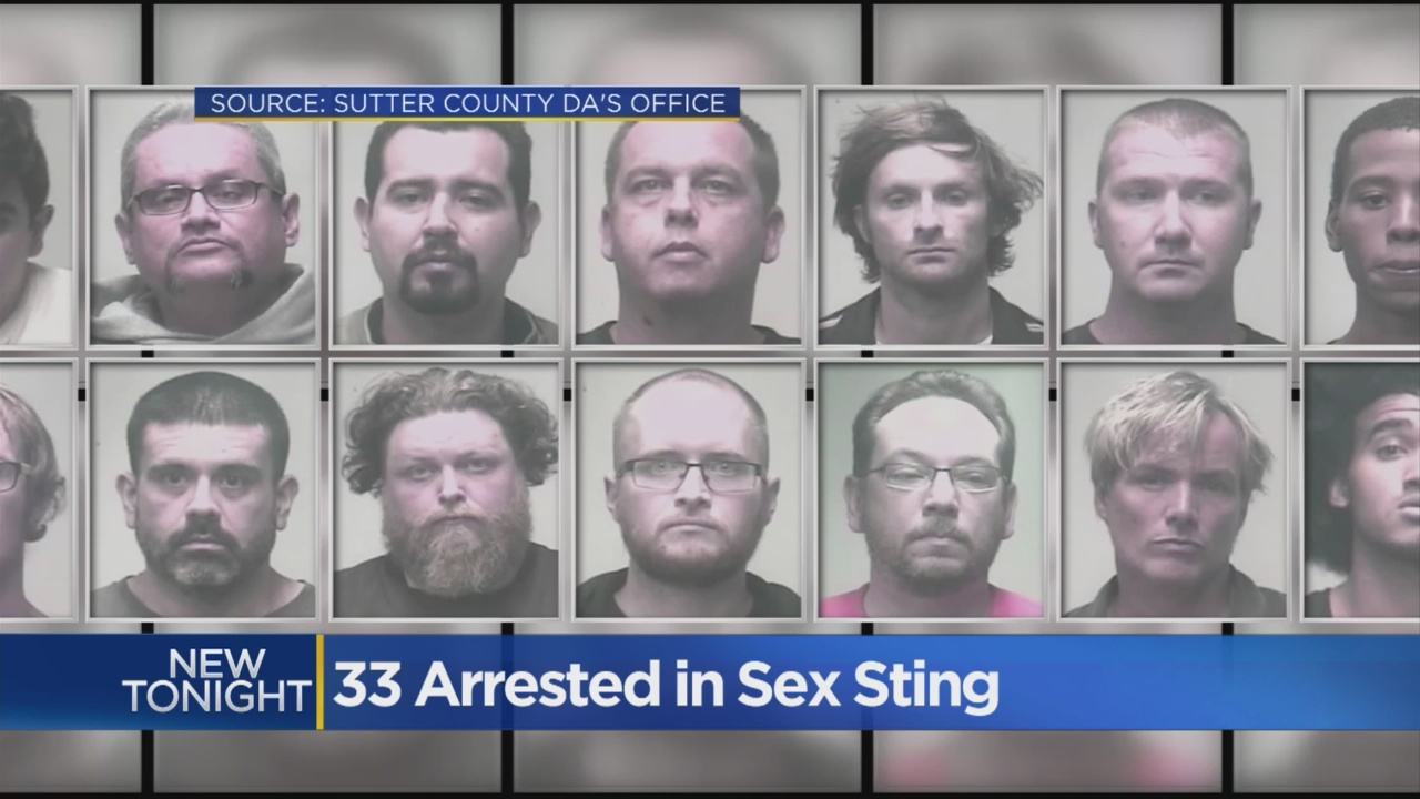 33 Arrested In Sutter County Sex Sting Operation – CBS