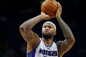 LEXINGTON, KY - OCTOBER 15:  DeMarcus Cousins #15 of the Sacramento Kings shoots a free throw against the Washington Wizards on October 15, 2016 at Rupp Arena in Lexington, Kentucky. (Photo by Jeff Haynes/NBAE via Getty Images)
