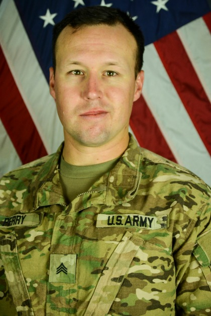 Sgt. John W. Perry. (Credit: Fort Hood Press Center)