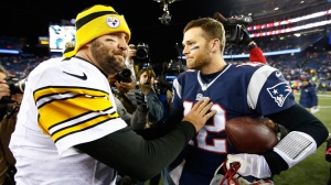 Ben Roethlisberger and Tom Brady