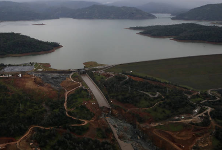 Oroville Dam Spillway Back In Use For 1st Time Since 2017