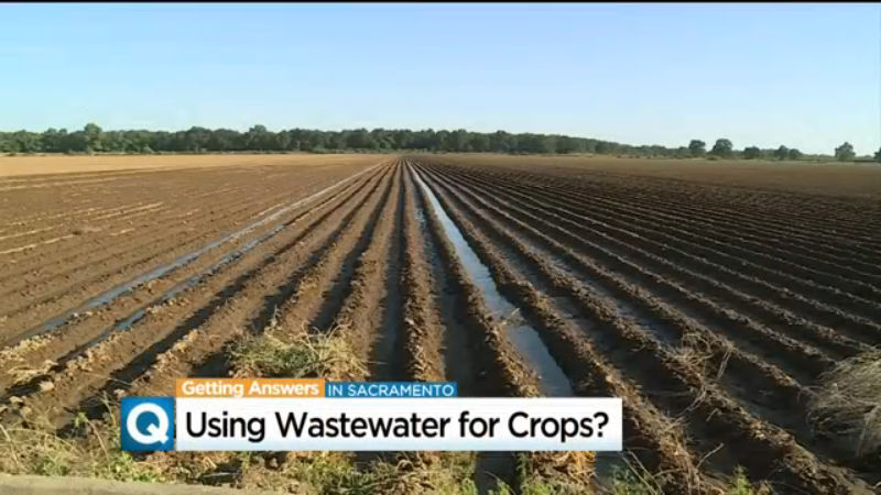 Plan To Irrigate Farms Using Treated Waste Water Gets