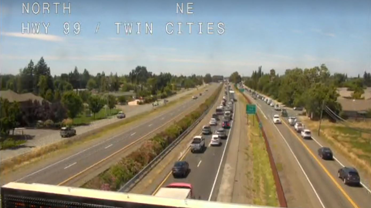 Both Directions Of Highway 99 Reopened In Galt After Closure