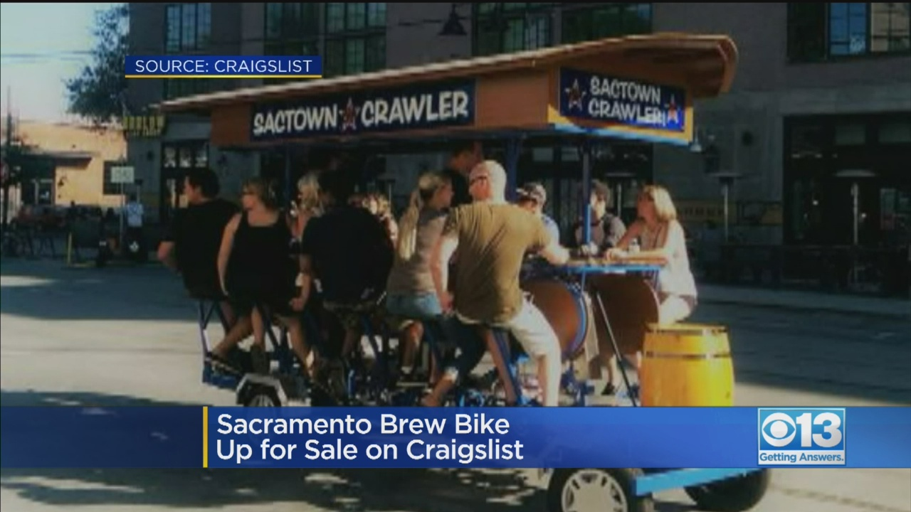 Amazing Sactown Crawler Party Bike Is Up For Sale On Craigslist For Gamerscity Chair Design For Home Gamerscityorg