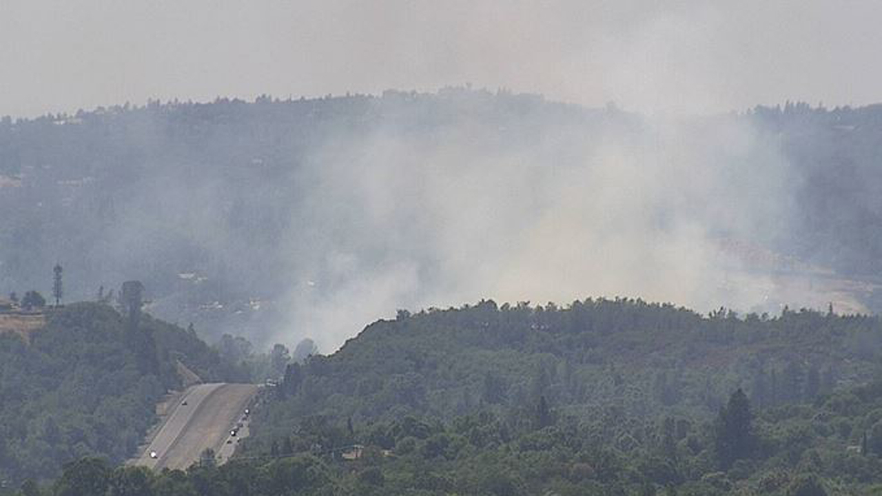 Fire That Prompted Highway 50 Closure Between Shingle