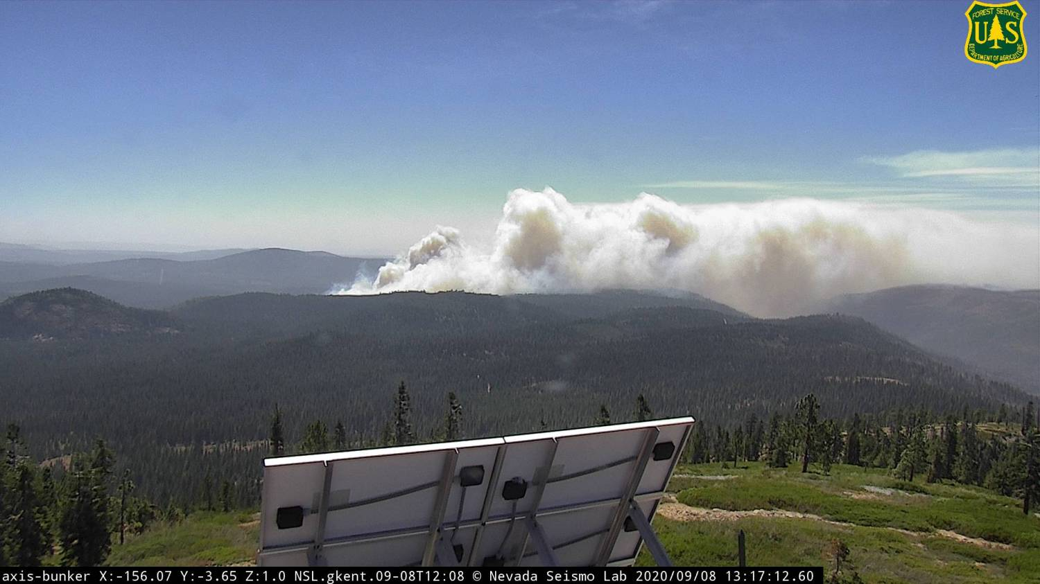Firefighters Responding To New Wind-Driven Wildfire In Eldorado National Forest – CBS Sacramento