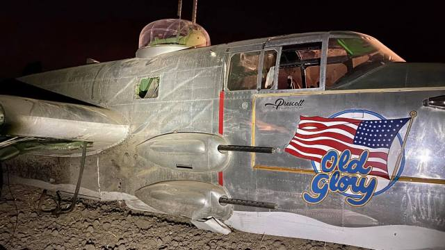 WWII-Era Plane That Crashed In Stockton Part Of 75th Flyover Of Pearl Harbor