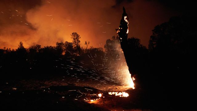 PG&E Charged In Zogg Wildfire Last Year That Killed 4