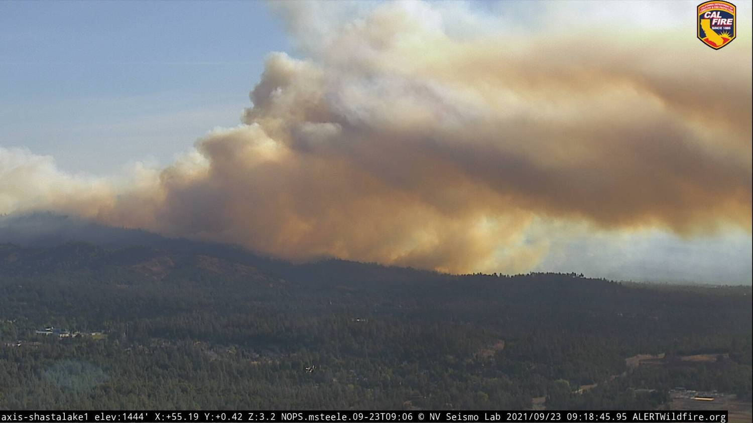Fawn Fire Grows To 8,537 Acres, 35% Containment